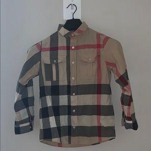 Burberry kids shirt